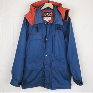 Vintage Seattle Made Storm Jacket Slicker Rain